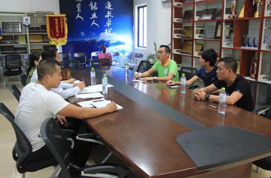 我院与三亚市文体局文化体育发展中心合作商谈